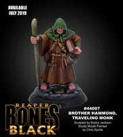 Reaper Miniatures - Brother Hammond, Monk - Painted