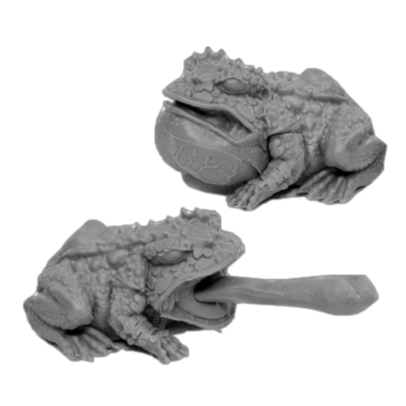 Reaper Miniatures - Giant Frogs - Unpainted