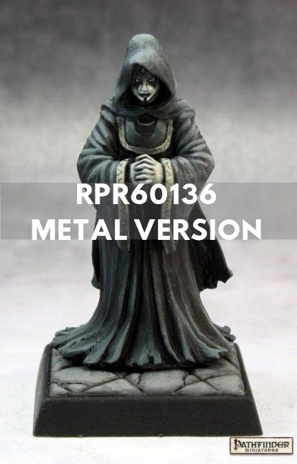 Reaper Minis - Female Priest or Cleric or Cultist - painted