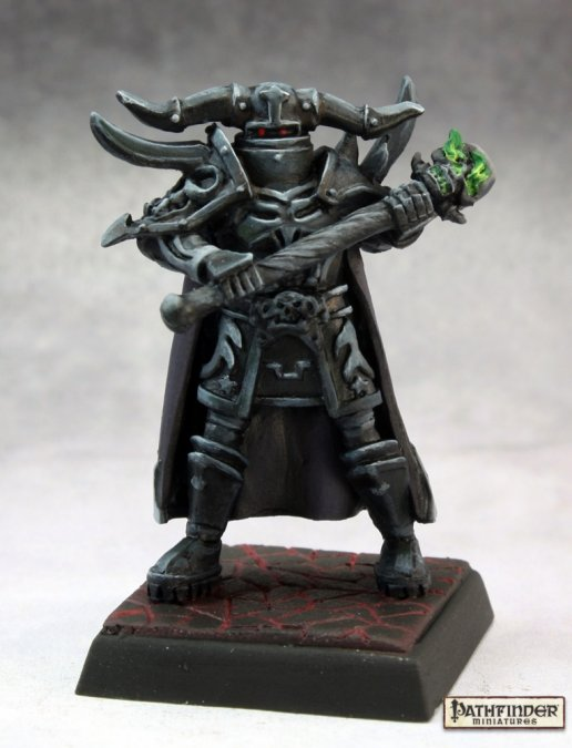 Reaper Miniatures - Death Knight - painted