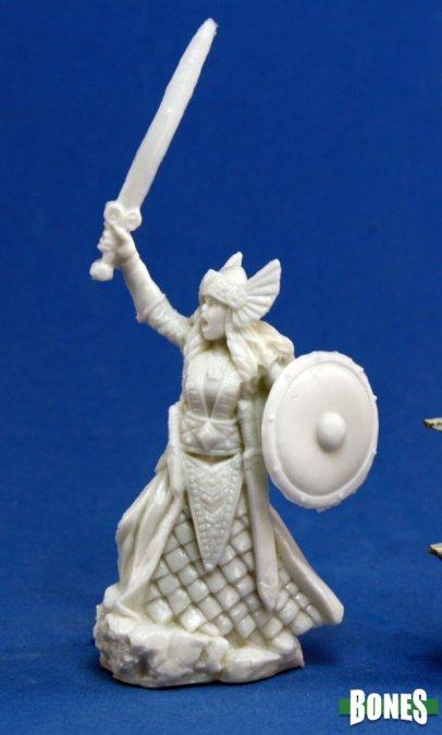 Reaper Miniatures - Female Human Fighter Viking - unpainted