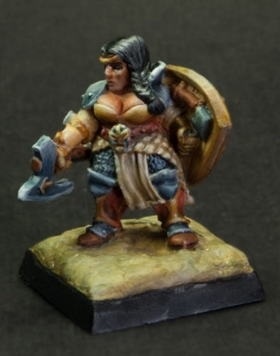 Reaper Miniatures - Female Dwarf Fighter - painted