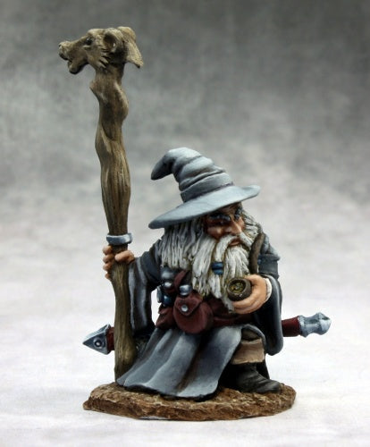 Reaper Miniatures - Male Dwarf Wizard - painted