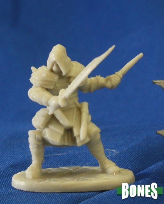 Reaper Miniatures - Male Human Rogue Assassin - unpainted