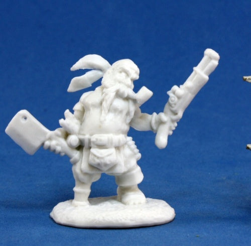 Reaper Minis - Male Dwarf Pirate Swashbuckler