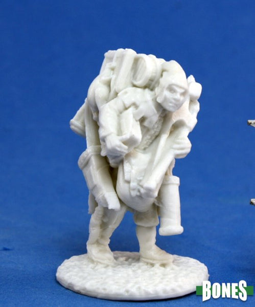 77141 Townsfolk: Oswald the Overladen 1pk - Unpainted mini
