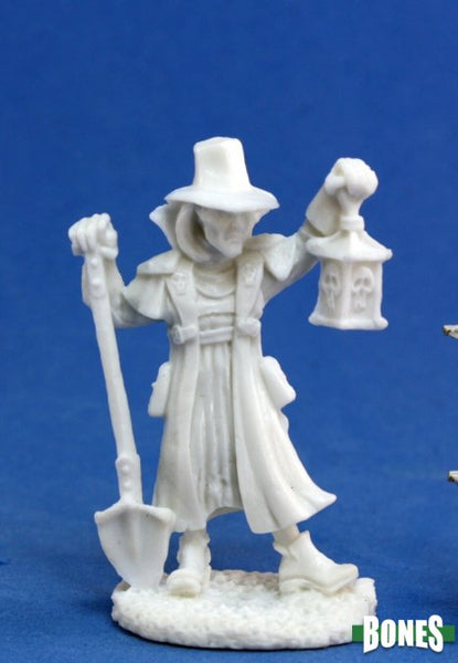 RPR77143 Townsfolk: Undertaker 1pk - Unpainted mini