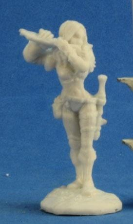 Reaper Miniatures - Female Human Bard - unpainted
