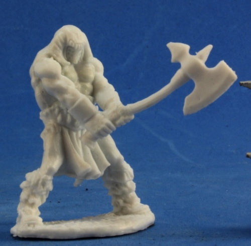 Reaper Miniatures - Male Human Barbarian Great Axe - unpainted