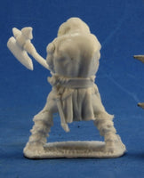 Reaper Minis - Male Human Barbarian Great Axe - unpainted