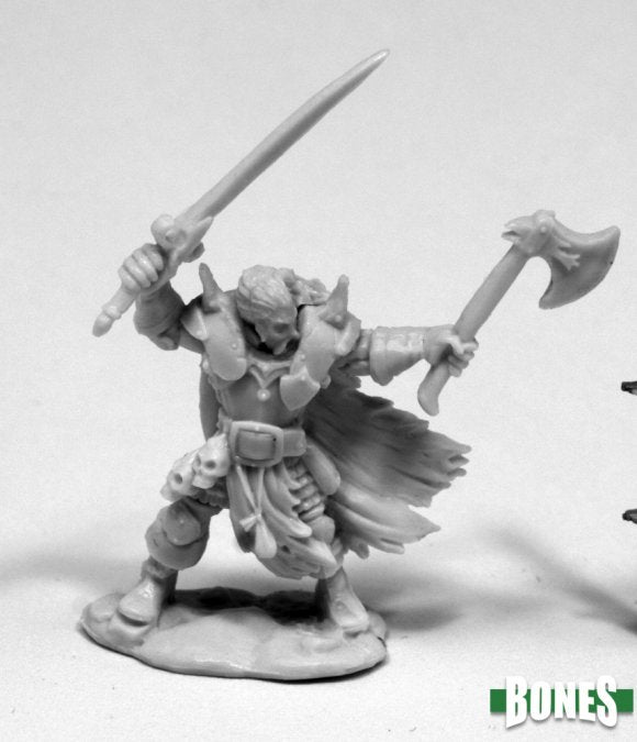Reaper Miniatures - Human Male Fighter or Ranger - unpainted
