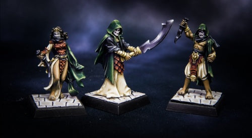 Reaper Miniatures - Cultists - painted