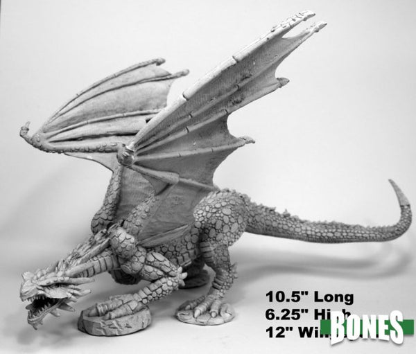Gargantuan Red Dragon unpainted