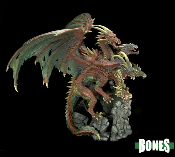 Ma'al Drakar, The Dragon Tyrant 1pk  ||  Bones  ||  Unpainted PVC