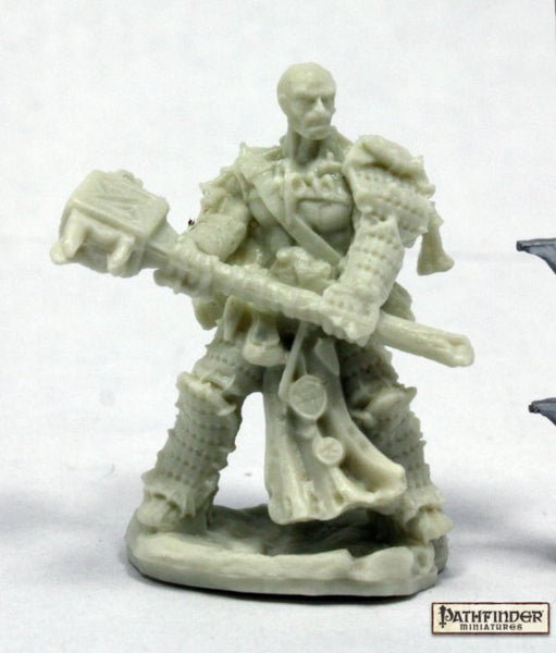 Reaper Miniatures - Male Human or Goliath Barbarian - unpainted