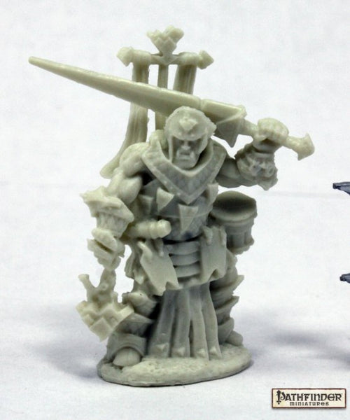 Reaper Miniatures - Male Half Orc Cleric