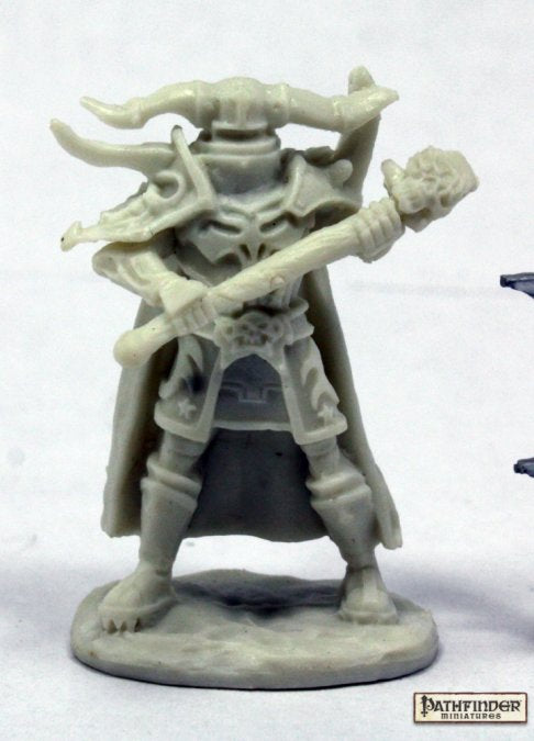 Graveknight, Undead Warrior 1pk || Bones || Unpainted PVC