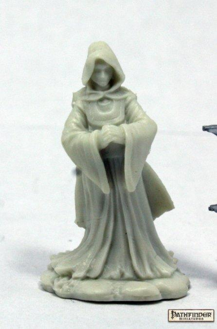 Reaper Miniatures - Female Priest or Cleric or Cultist - unpainted