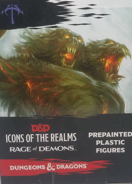 Pre Painted D&D Miniatures - Rage of Demons booster
