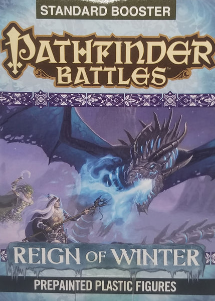 Pre Painted Pathfinder Miniatures - Reign of Winter Booster