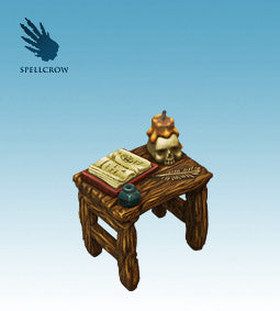 Spellcrow Table - painted