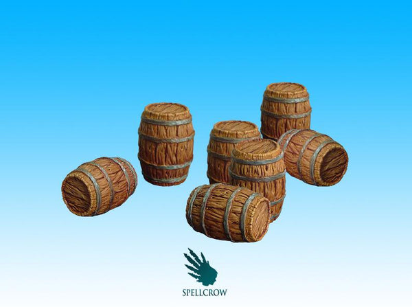 Spellcrow Barrels - painted