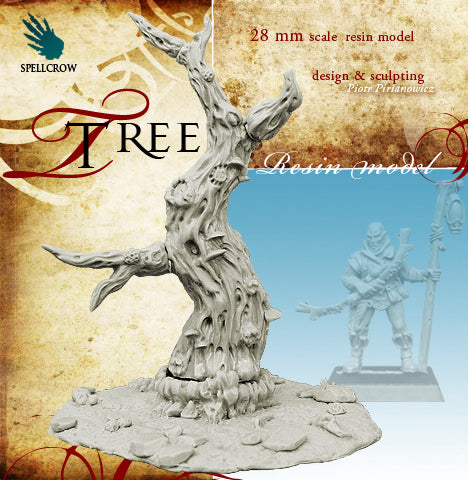 Spellcrow Large Tree - unpainted