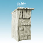 Spellcrow terrain - Old Privy Outhouse - toilet