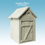 Spellcrow terrain - Luxury Privy Outhouse - toilet