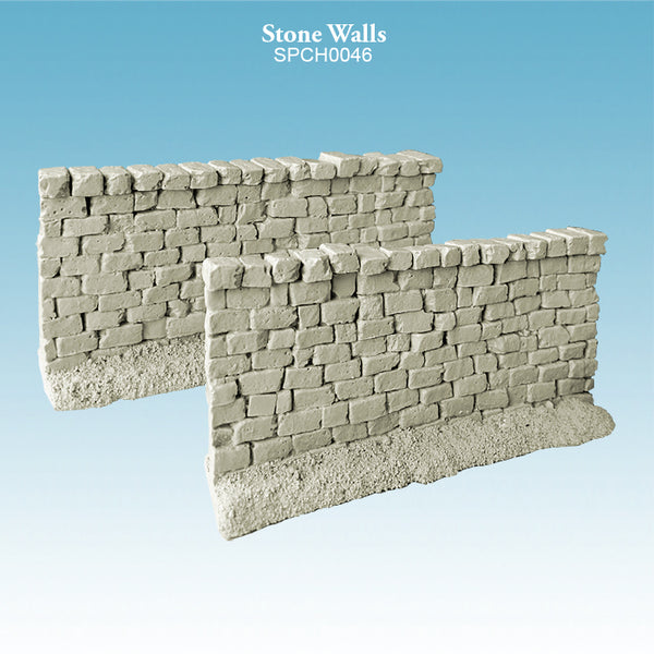 High Stone Walls unpainted