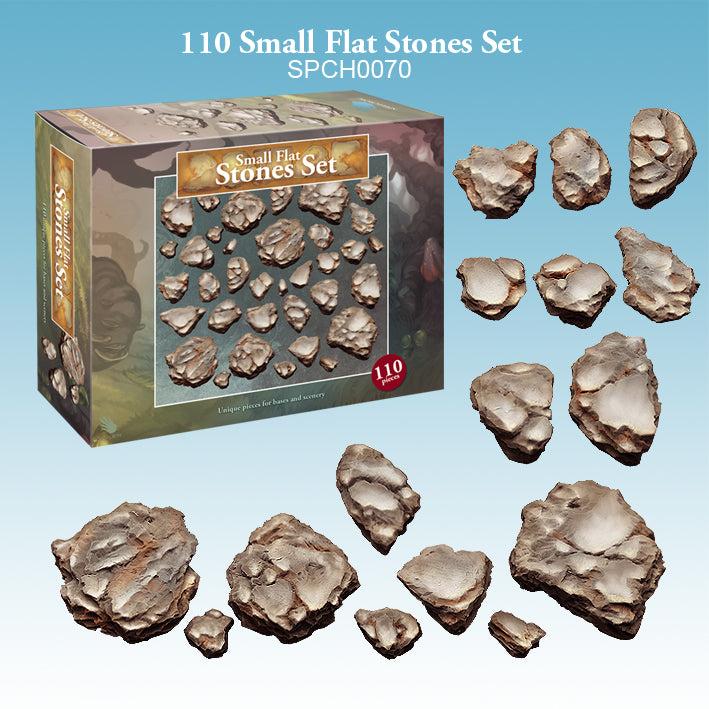 spellcrow minis - small flat stones - basing