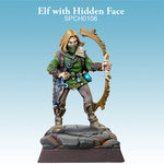 Elf Ranger Rogue mask painted