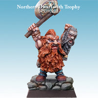 Spellcrow Dwarf Barbarian Axe & Head painted