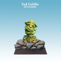 Spellcrow Sad Goblin painted