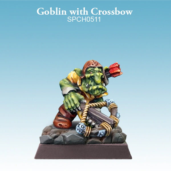 Spellcrow Goblin with Crossbow 1pk - Painted