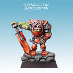 Spellcrow Male Orc Barbarian Great Sword painted