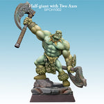 Spellcrow Half Giant (Goliath) axes - painted