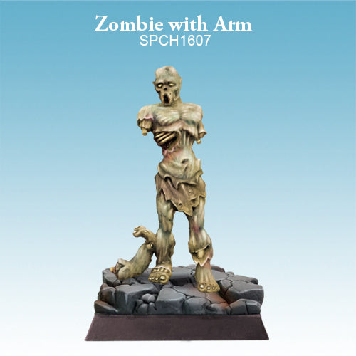 Spellcrow Zombie no arms painted