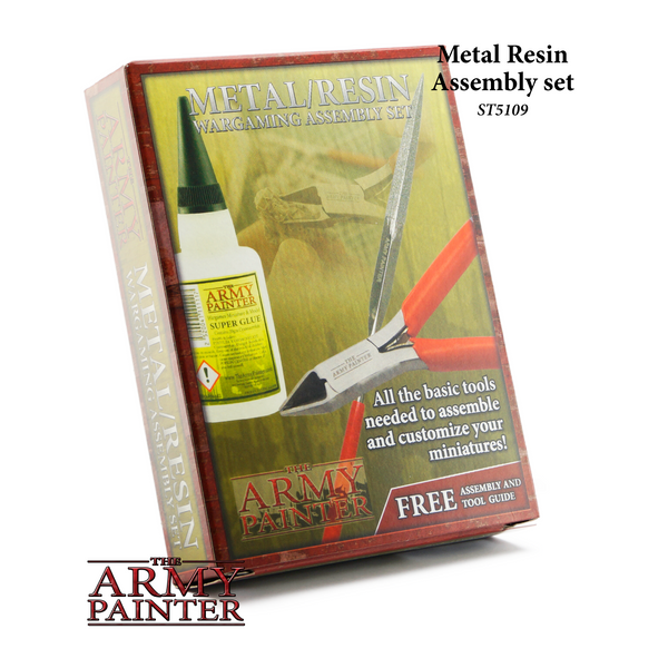 Hobby Tools Australia - Metal Resin Miniatures Assembly Set