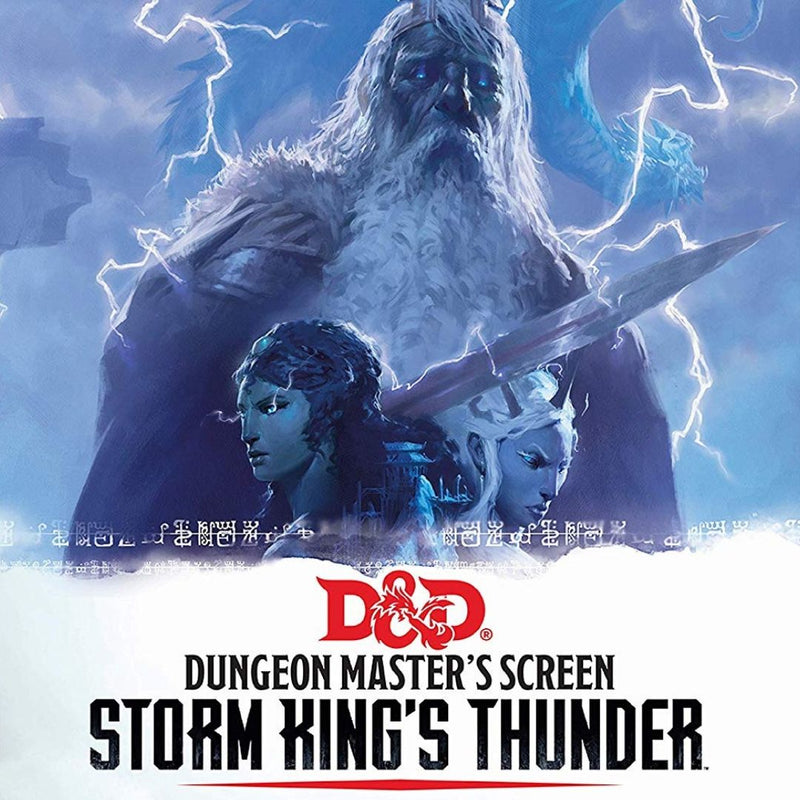 Storm King`s Thunder DM Screen GF973707 Dungeons and Dragons RPG