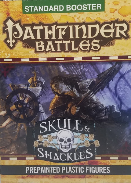 Pre Painted Pathfinder Miniatures - Skull & Shackles Booster