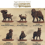 SFAADD-001 Dungeons and Doggies Box 1 (Pack of 6) - Miniatures Labelled