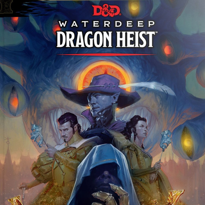 D&D Waterdeep Dragon Heist  ||  Dungeons & Dragons 5th Edition: Books