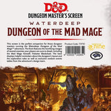 D&D Waterdeep Dungeon of the Mad Mage DM Screen  ||  Dungeon Master Accessories