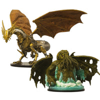 Pre Painted D&D Minis - Clockwork Dragon and Star Spawn of Cthulhu - Painted miniatures