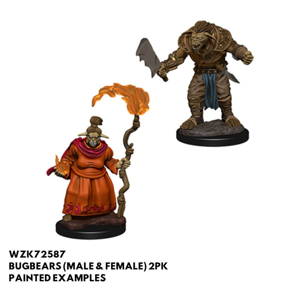 Pathfinder Miniatures - Bugbears (Male & Female) - Painted