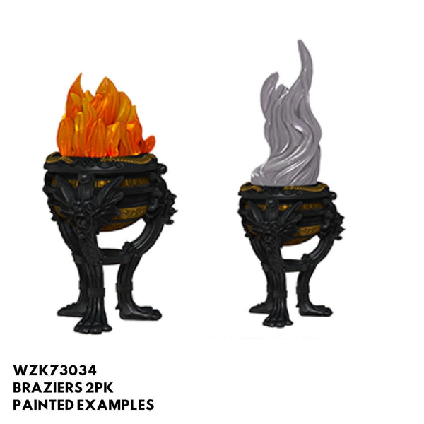 Pathfinder Miniatures - Braziers - Painted