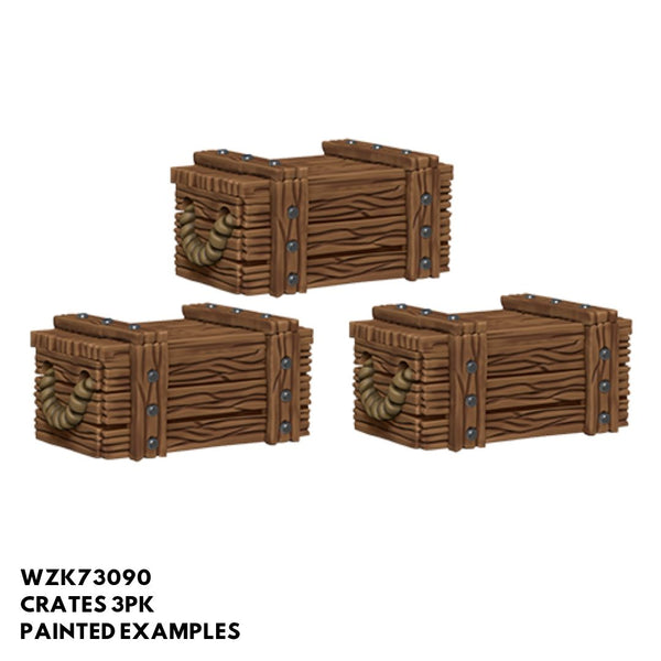 Pathfinder Miniatures - Crates - Painted