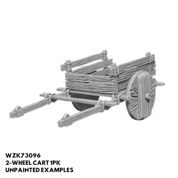 Wizkids #73096 2-Wheel Cart 1pk - Unpainted Example