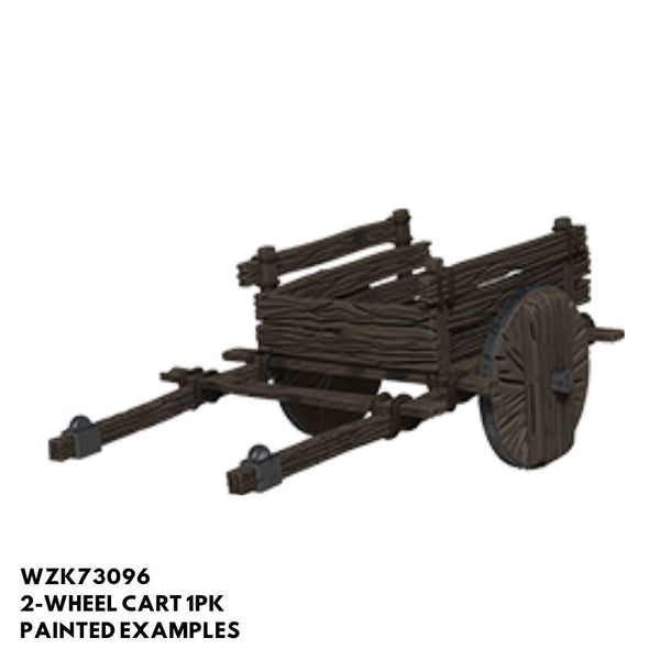 Pathfinder Miniatures - 2-Wheel Cart - Painted
